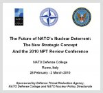 "The conference ""The Future of NATO's Nuclear Deterrent"""