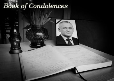 Book of condolences opened in the National Security Bureau