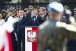 President Duda speaks at Polish army day ceremonies