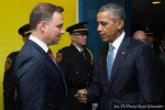 Polish and US presidents on security and next year's NATO summit