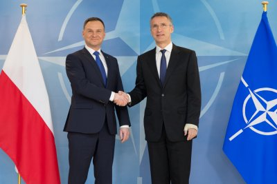 "President: ""Warsaw NATO summit is to strengthen Central European security and the alliance's southern flank"""