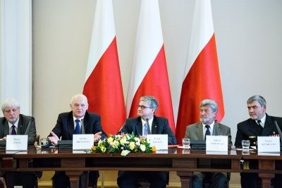 Poland begins work on naval security concept