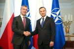 President meets with NATO secretary general