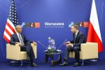 Polish and US presidents meet in Warsaw