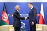 Polish and Afghan presidents discuss cooperation with NATO