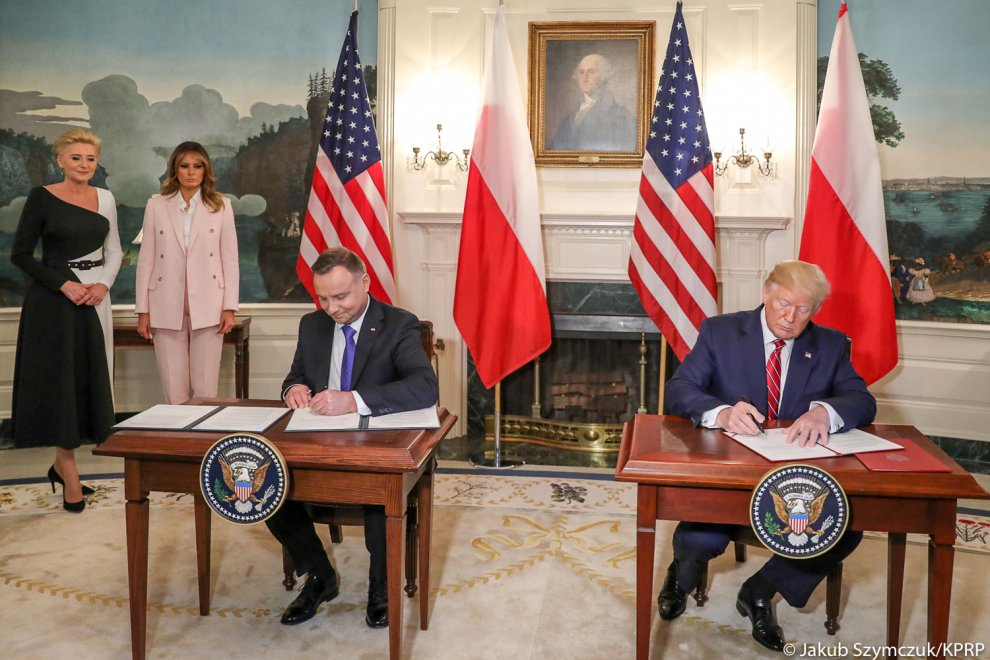 Joint Declaration on Defense Cooperation Regarding U.S. Force Posture in Poland