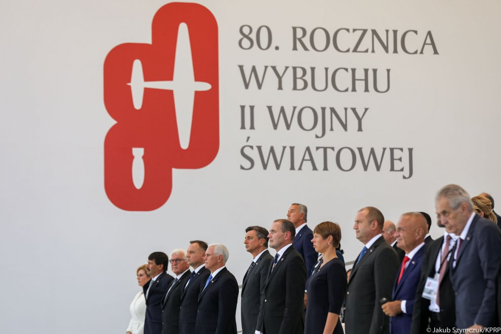 The 80th anniversary of the outbreak of World War II in Warsaw
