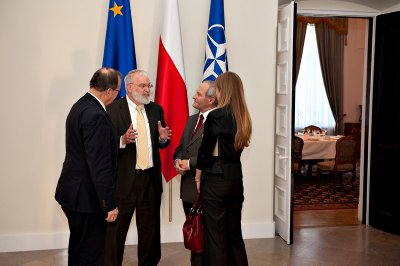 Head of the Israel's National Security Council visits Poland
