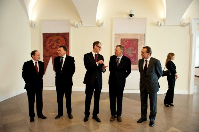 Warsaw meeting of the weimar triangle security secretaries news